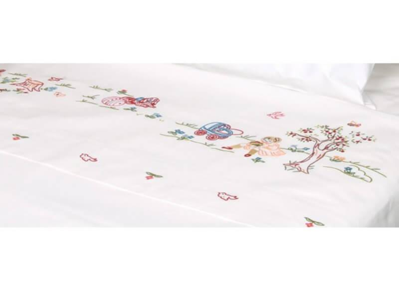 a16f5db53a8 Σετ Βρεφικά Σεντόνια Βαμβακερά Περκάλι Rose   Γαρύφαλλο - Λευκά Είδη. Σετ  Βρεφικά Σεντόνια Βαμβακερά Περκάλι Rose   Γαρύφαλλο - Λευκά Είδη