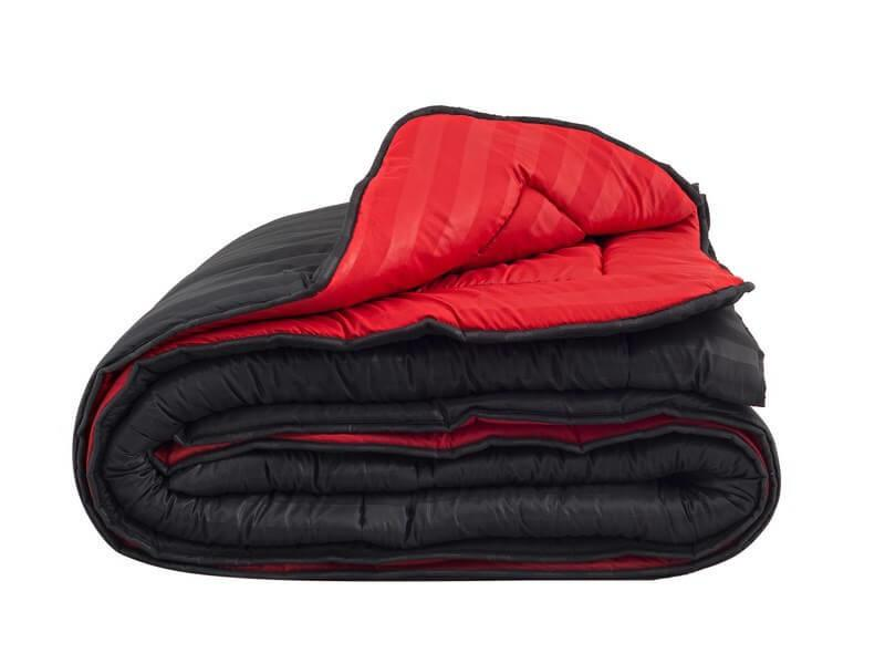 d8e7394a9cb Παπλώματα: Πάπλωμα Μονό Κόκκινο-Μαύρο Microsatin Beauty Home 170x240 ...